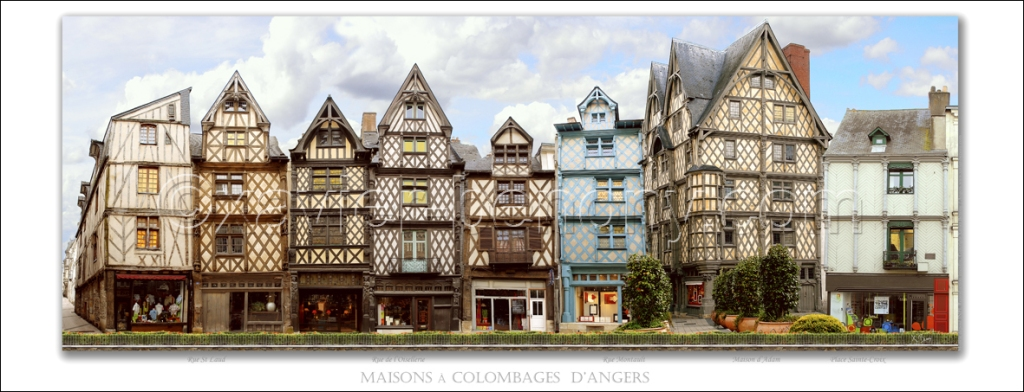 Maisons à colombage d'Angers 1