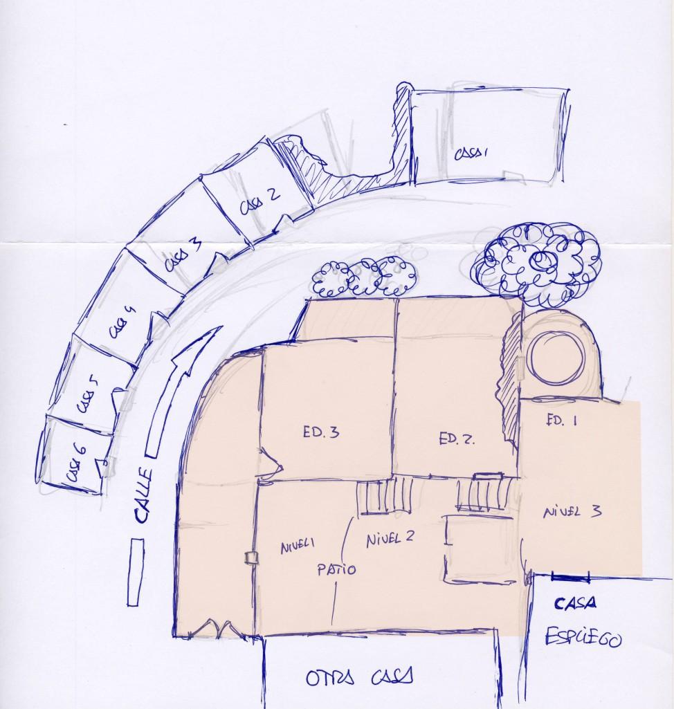 Corral de Leoncio plano